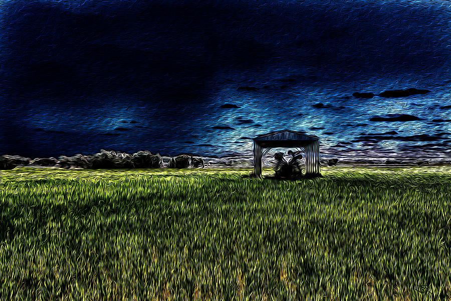 Lurking Digital Art - Lurking by John Monteath