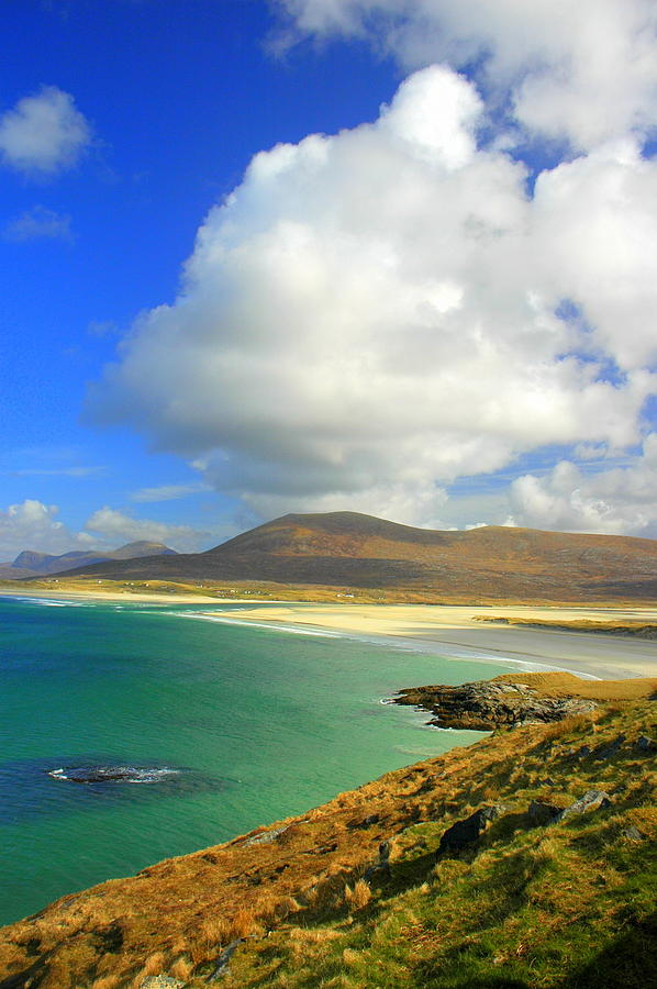 Harris Photograph - Luskentyre Beach  by The Creative Minds Art and Photography