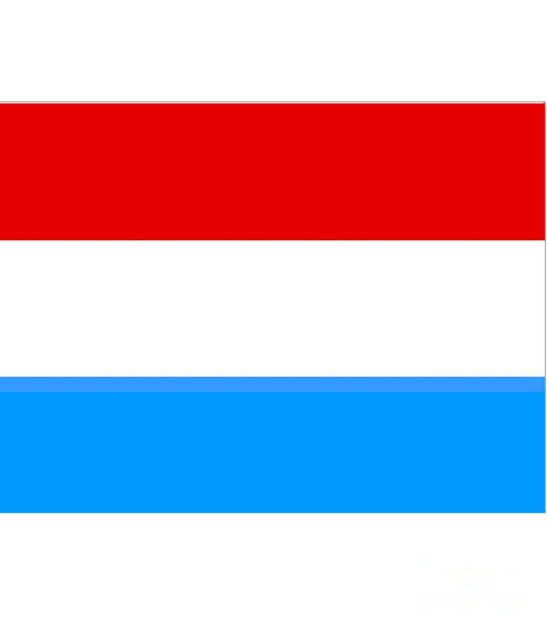 Luxembourg Digital Art - Luxembourg Flag by Frederick Holiday