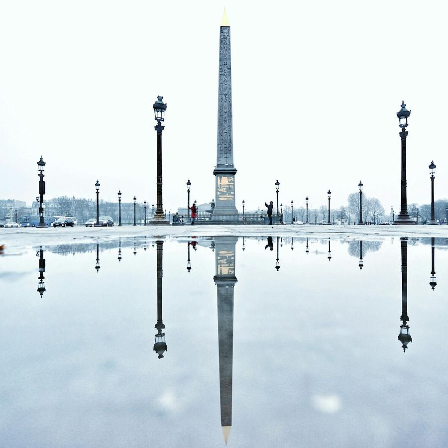 Luxor Obelisk On The Place De La Photograph by Gerard Trang / Eyeem