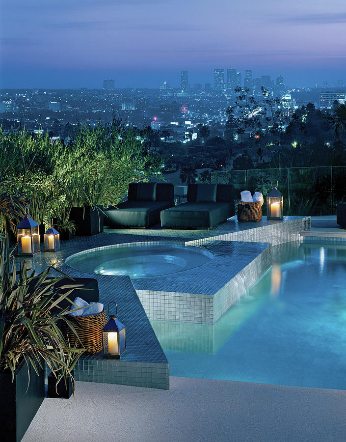 Luxurious Swimming Pool Photograph by Mary E. Nichols