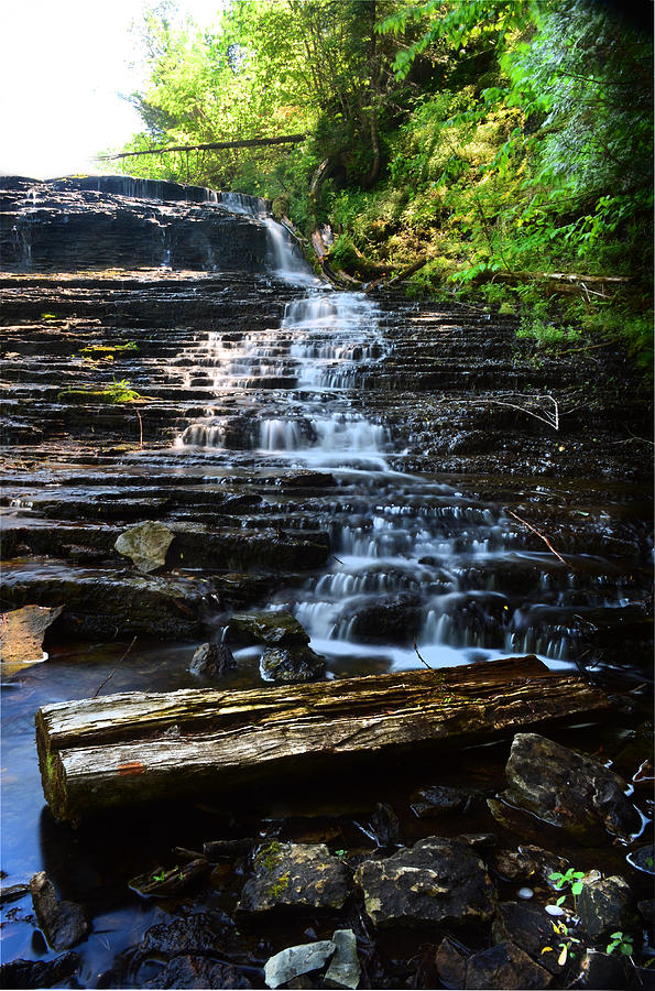 Waterfall Photograph - Lwv60004 by Lee Wolf Winter