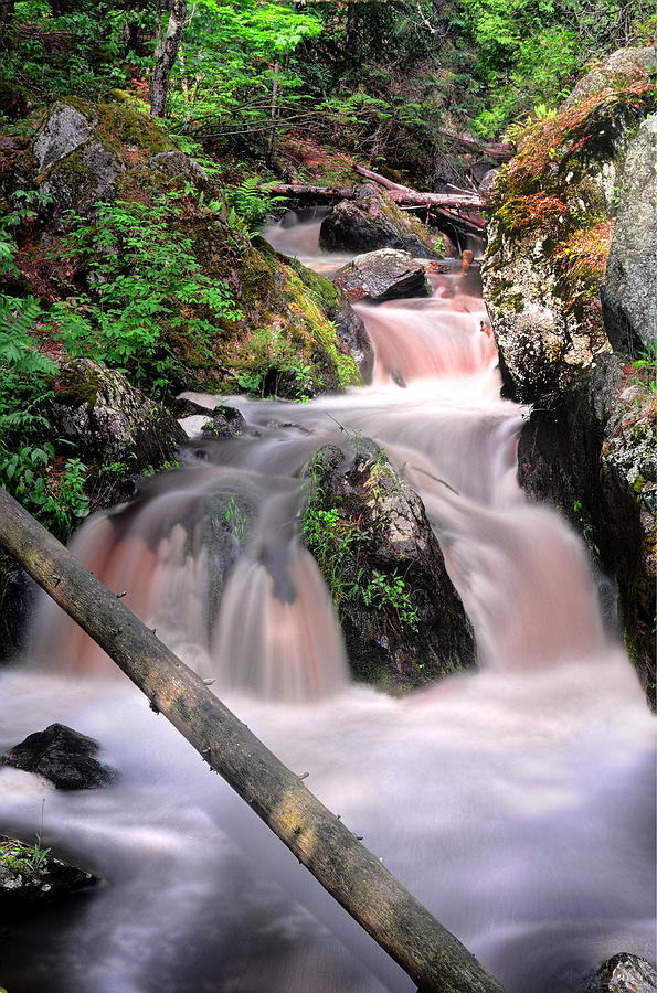 Waterfall Photograph - Lwv60011 by Lee Wolf Winter