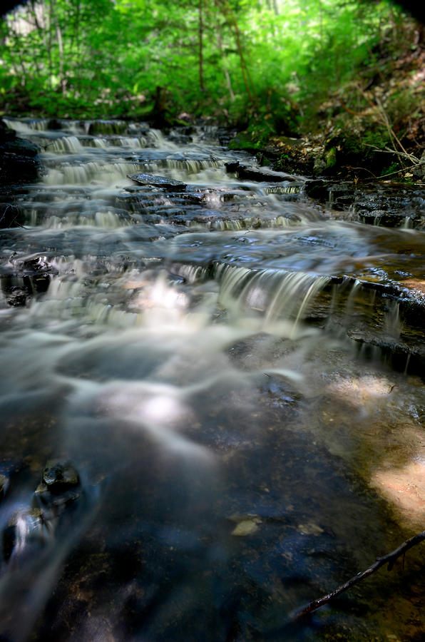 Waterfall Photograph - Lwv60012 by Lee Wolf Winter