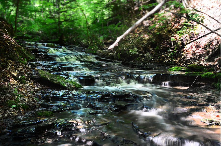 Waterfall Photograph - Lwv60013 by Lee Wolf Winter