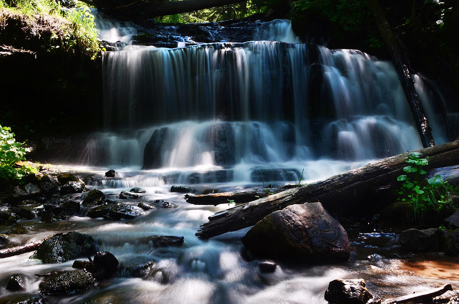 Waterfall Photograph - Lwv60015 by Lee Wolf Winter