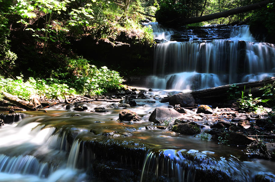 Waterfall Photograph - Lwv60018 by Lee Wolf Winter