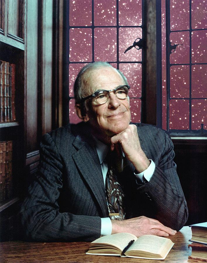 20th Century Photograph - Lyman Spitzer by Denise Applewhite/princeton University