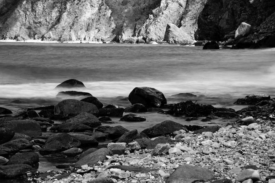 Coast Photograph - Lynton And Lynmouth Coast by Lesley Rigg