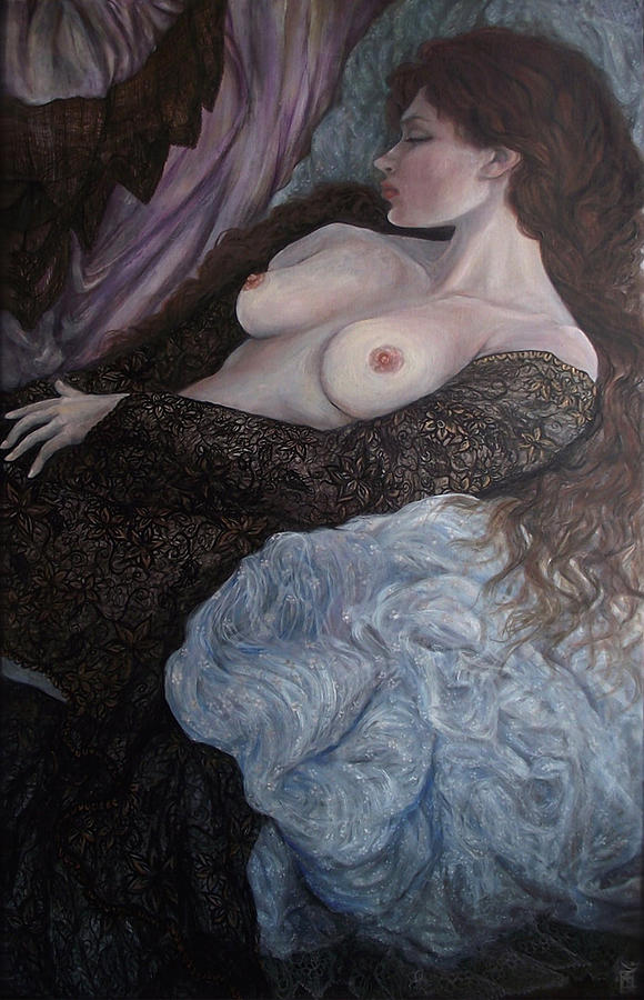 Nude Painting - Lyric by Safir  Rifas