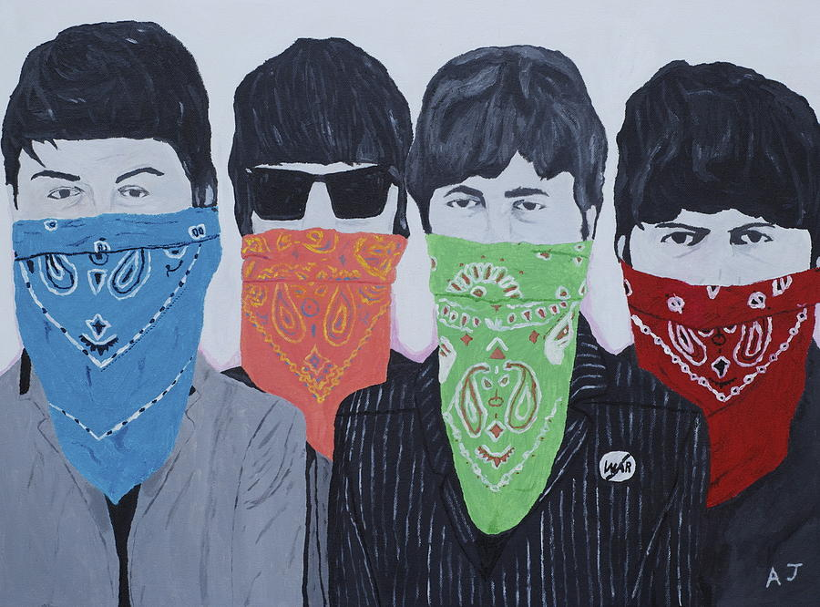 The Beatles Painting - Lyrical Gangsters by Austin James