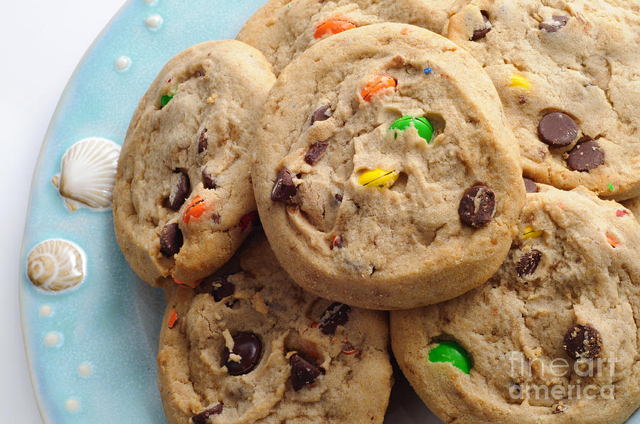 M And M Chocolate Chip Cookies Bakery Shop