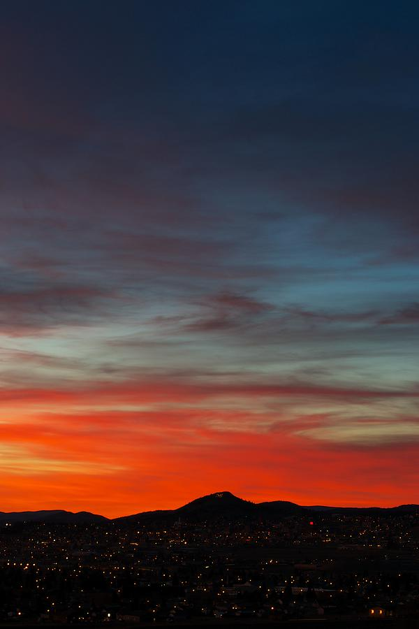 Sunset Photograph - M On Fire  by Kevin Bone