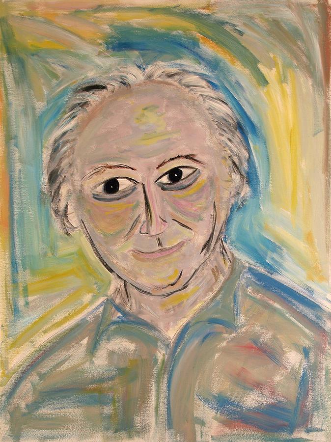 Portrait Painting - M. Portrait  by Maggis Art