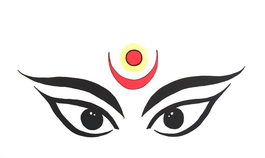 Maa Kali Iii Drawing By Kruti Shah