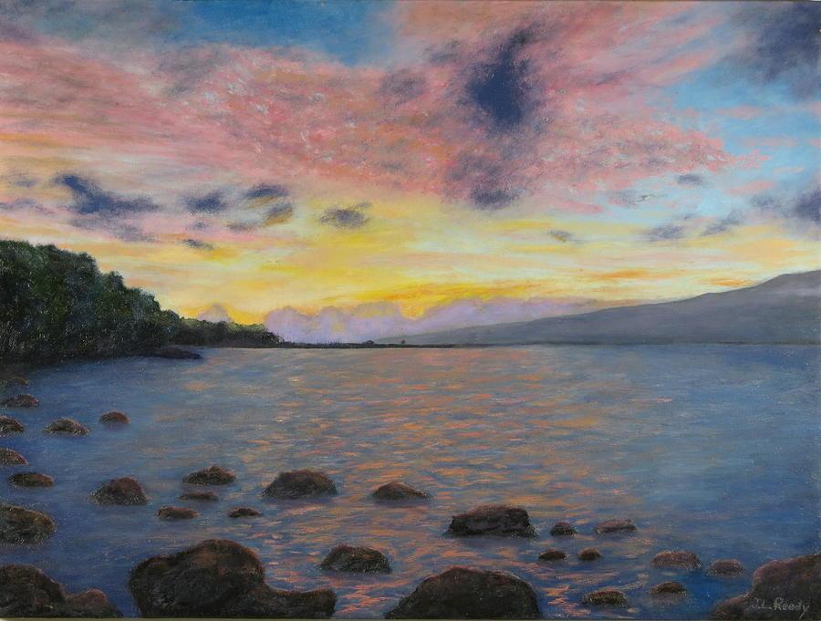 Ma'alaea Sunrise by J Loren Reedy