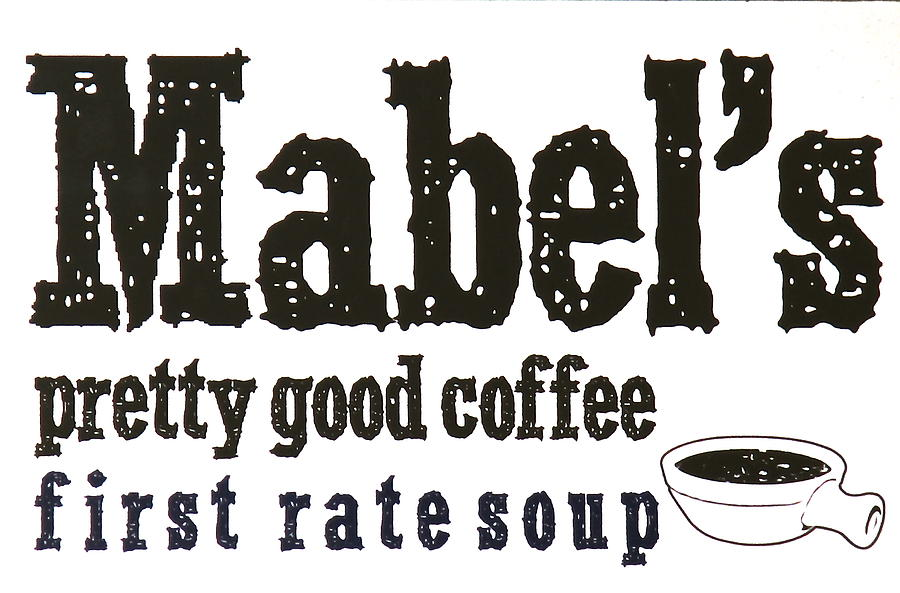 Mabels Photograph - Mabels Cafe by Jeff Gater