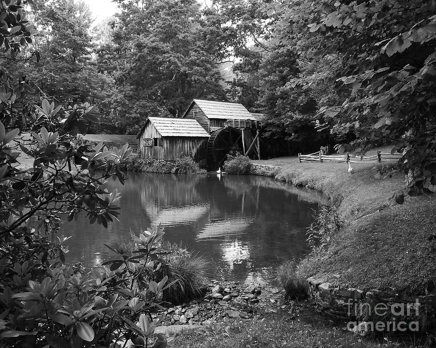 Mabry Mill Photograph - Mabry Mill 2 by Mel Steinhauer