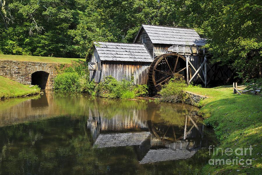 Mabry Photograph - Mabry Mill by Jill Lang