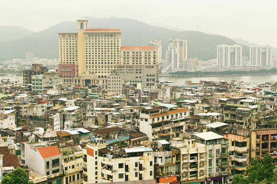 Macau Overview Photograph by Craig Saewong