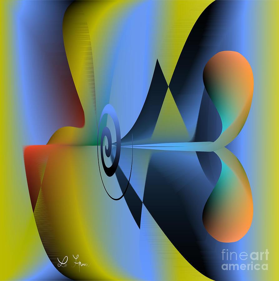 Machine Digital Art - Machine For Happiness by Leo Symon