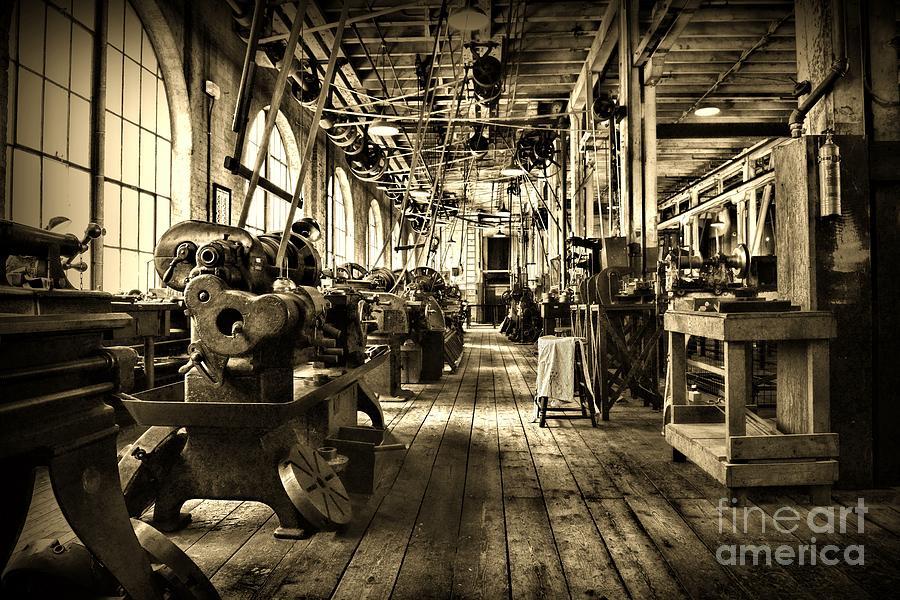 machine shop industry