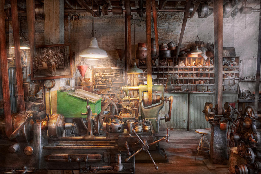 Machinist Photograph - Machinist - It All Starts With A Journeyman  by Mike Savad