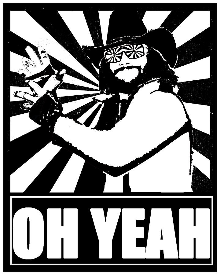 Macho Man Randy Savage Digital Art Jason Kimble