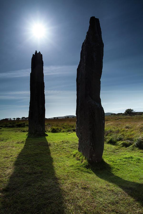 Machrie Moor Stone Circle, Isle Of Photograph by Jason Friend Photography Ltd