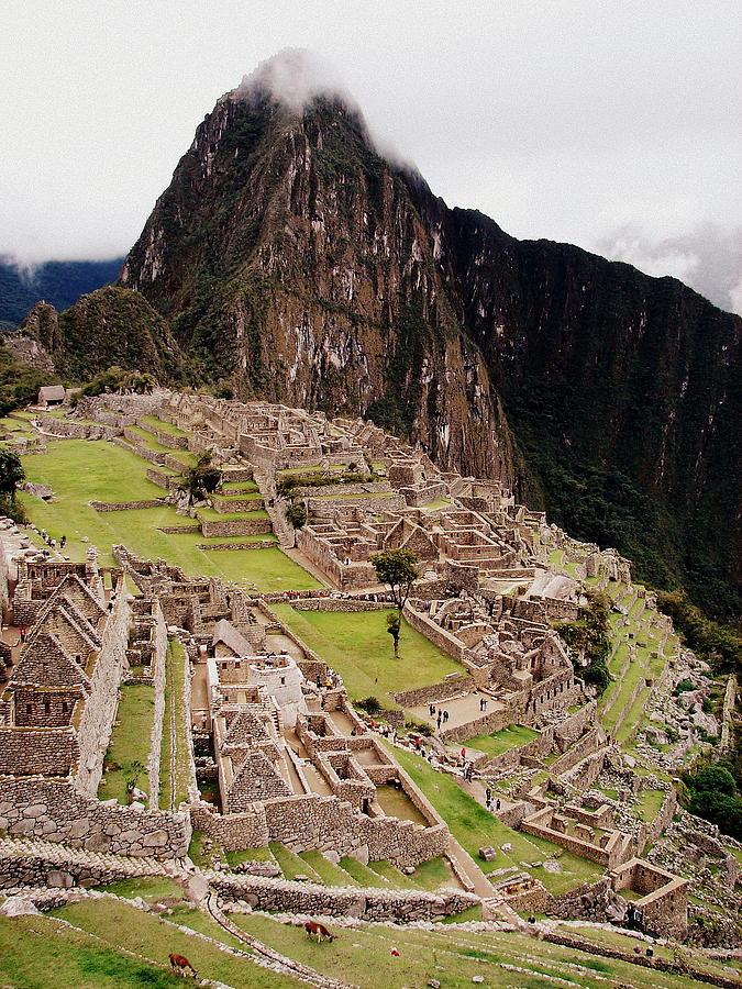 Machu Picchu Photograph - Machu Picchu by Ramona Johnston