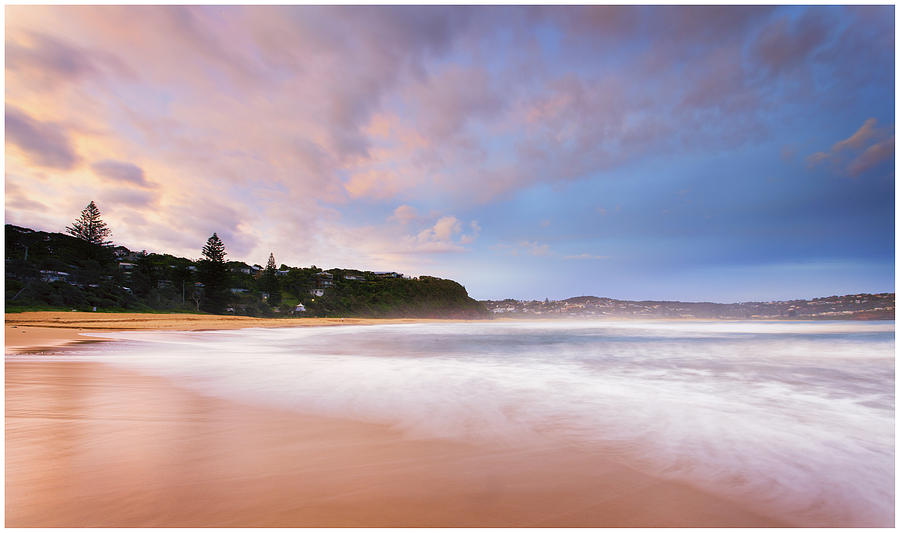 Sunset Photograph - Macmasters Sunset 2 by Steve Caldwell