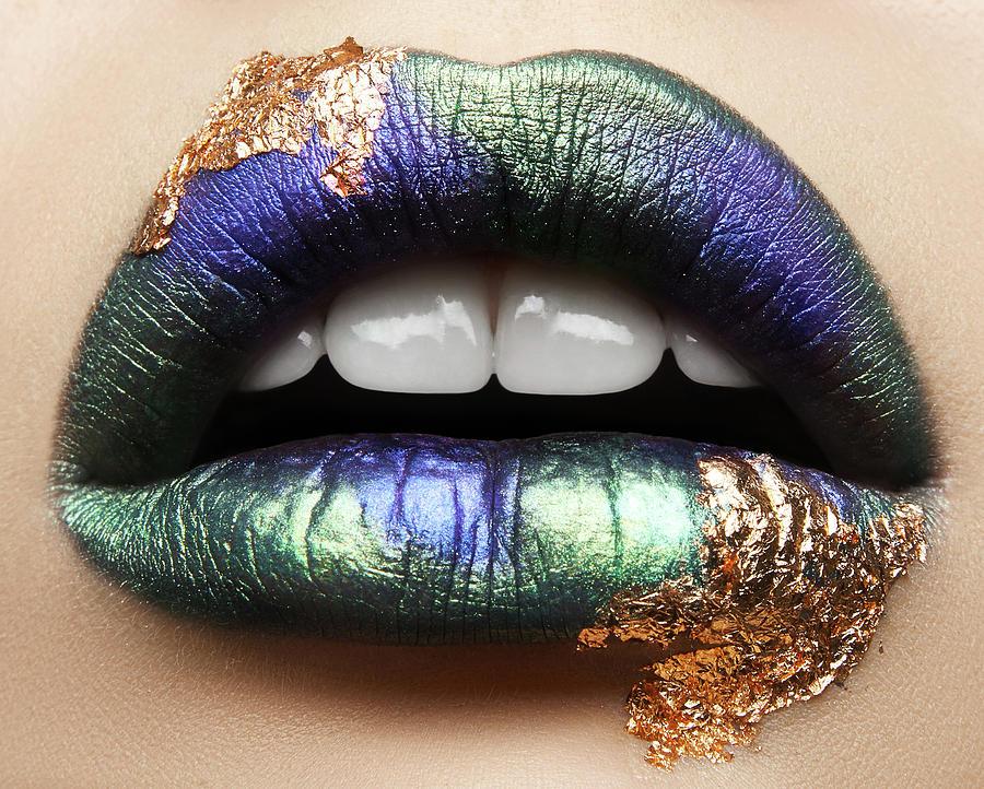 Mouth Photograph - Macro Beauty by Alex Malikov