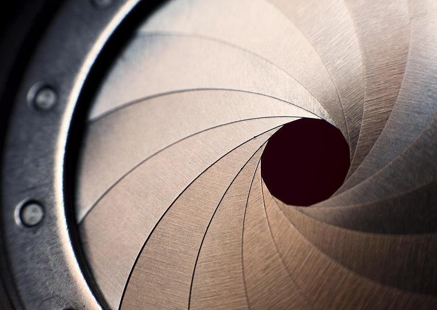 Macro of an iris Photograph by LdF