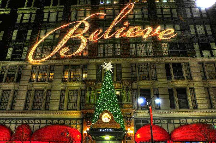 macys photograph macys 2010 christmas slogan by randy aveille