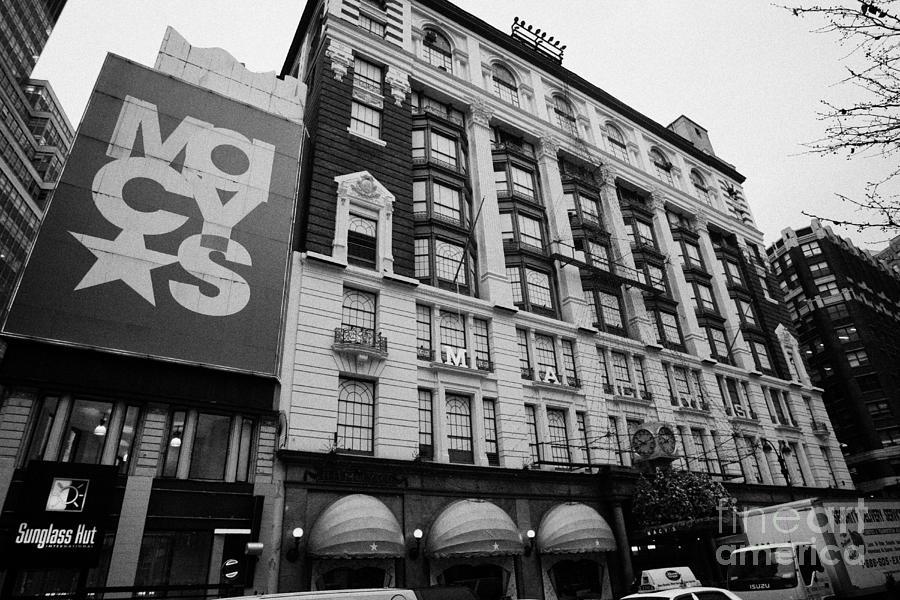 Usa Photograph - Macys Department Store New York City by Joe Fox