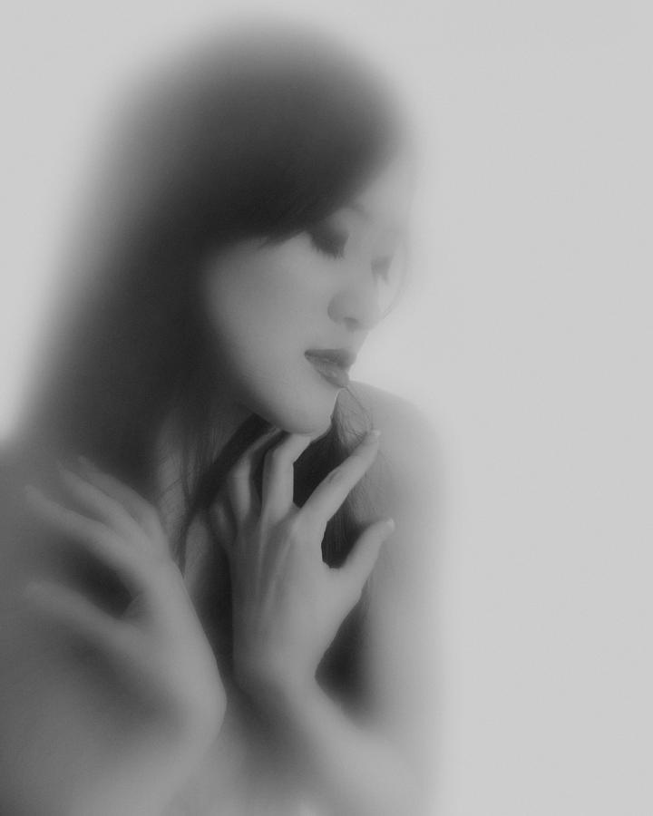 Portrait Photograph - Madam Butterfly  by Mayumi Yoshimaru
