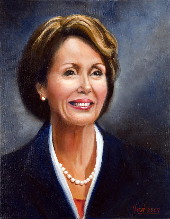 Portrait Painting - Madame Speaker by Norah Brown