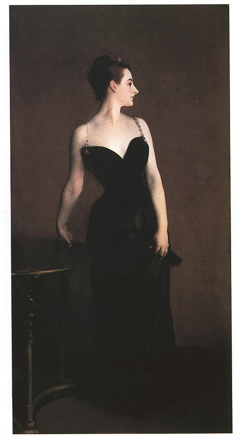 John Singer Sargent Painting - Madame X  by John Singer Sargent