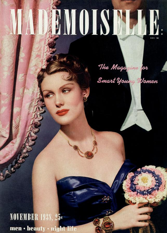 Mademoiselle Cover Featuring A Model In An Opera Photograph by Paul DOme