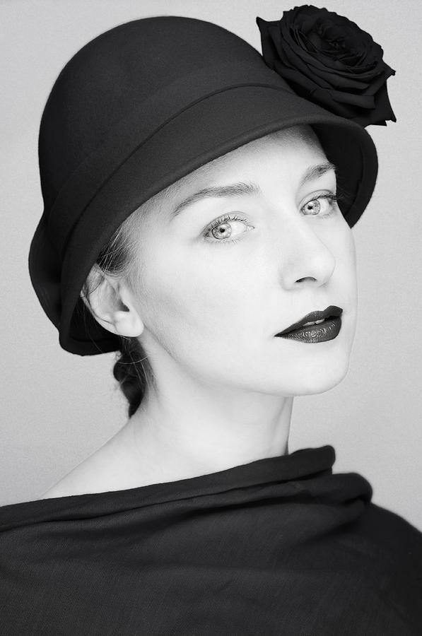 Portrait Photograph - Mademoiselle II by Silvia Floarea Toth