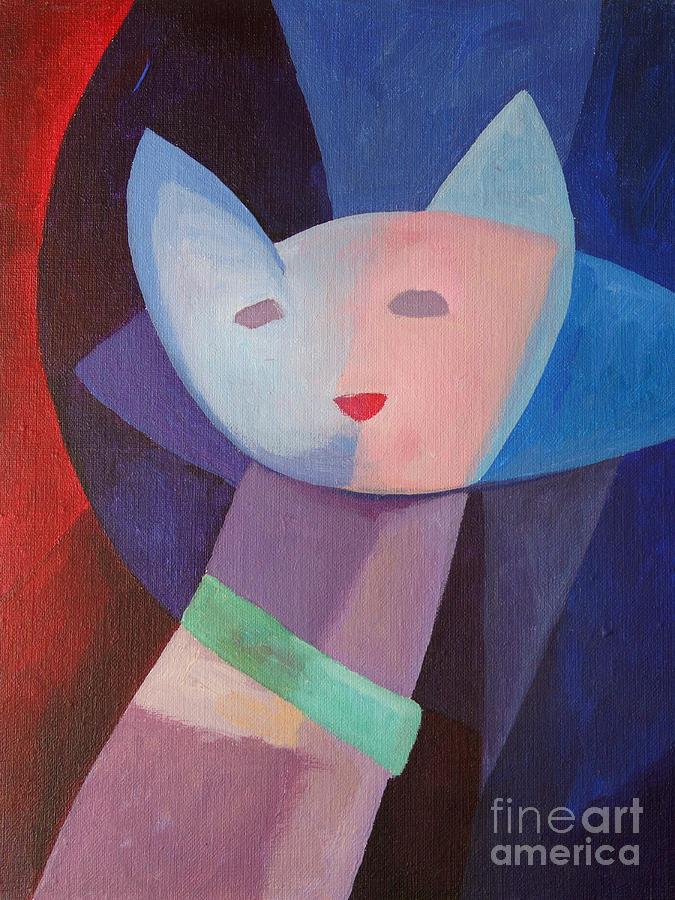 Mademoiselle Painting - Mademoiselle by Lutz Baar