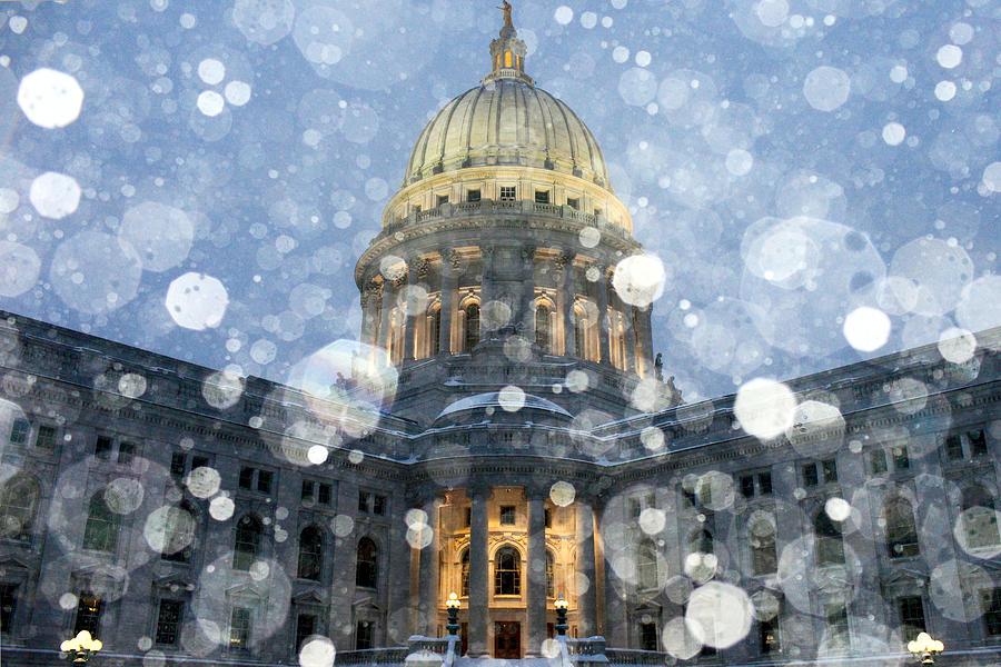 Snow Photograph - Madisonian Winter by Todd Klassy