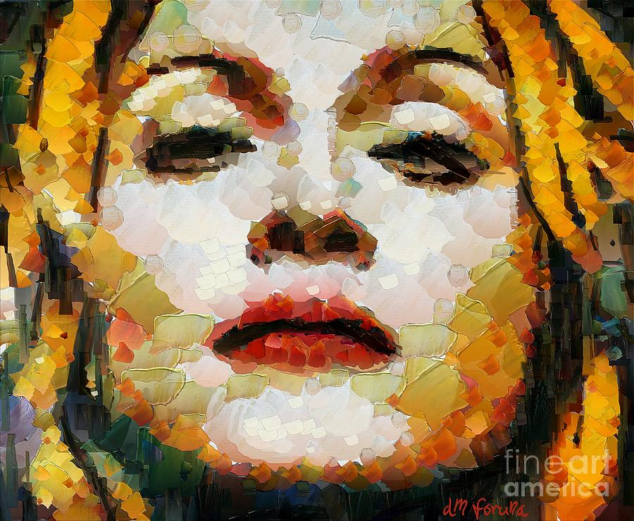 Woman Mixed Media - Madonna by Dragica  Micki Fortuna