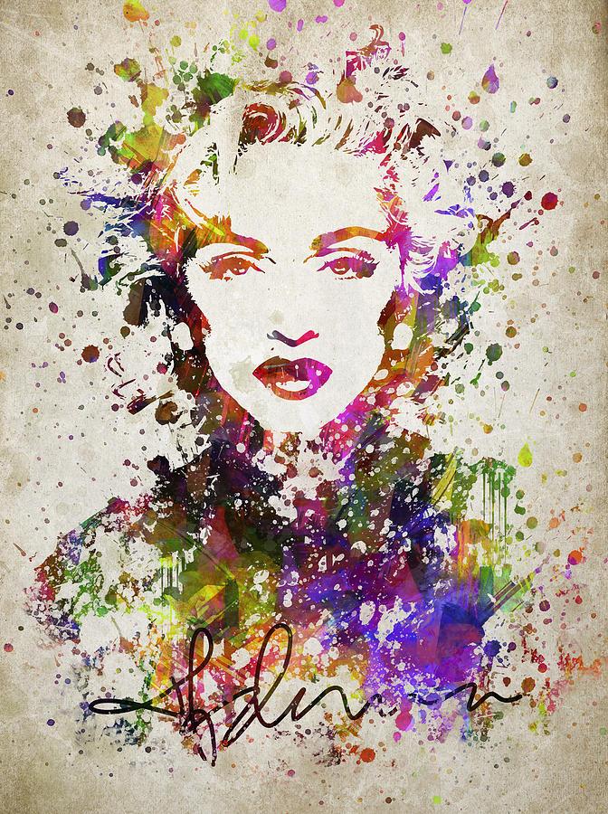 Madonna Pop Art Painting