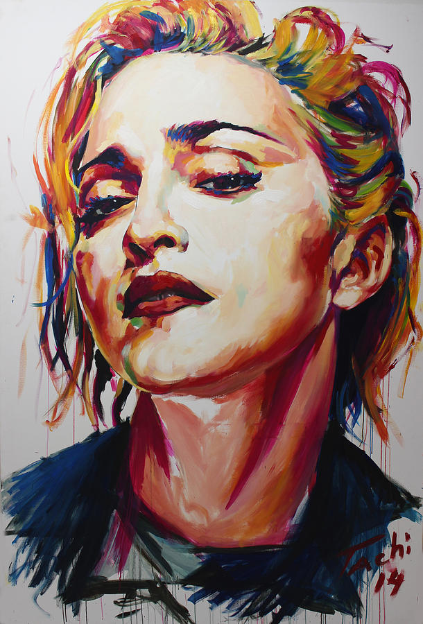 Madonna by Tachi Pintor