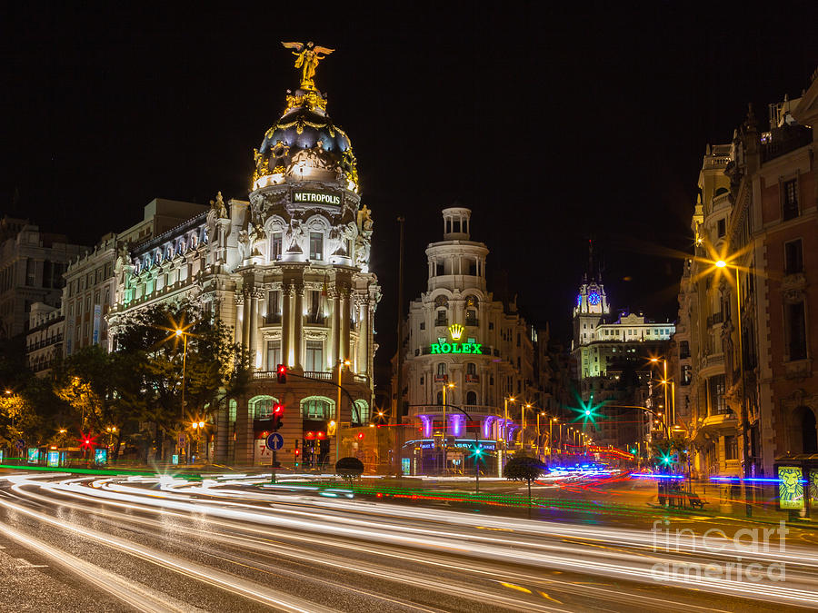 City Photograph - Madrid by Eugenio Moya