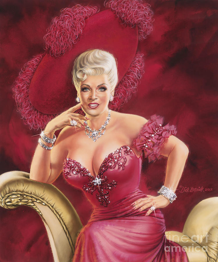 MAE WEST by Dick Bobnick