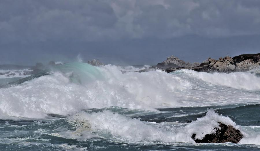 Ocean Photograph - Maelstrom by Elery Oxford