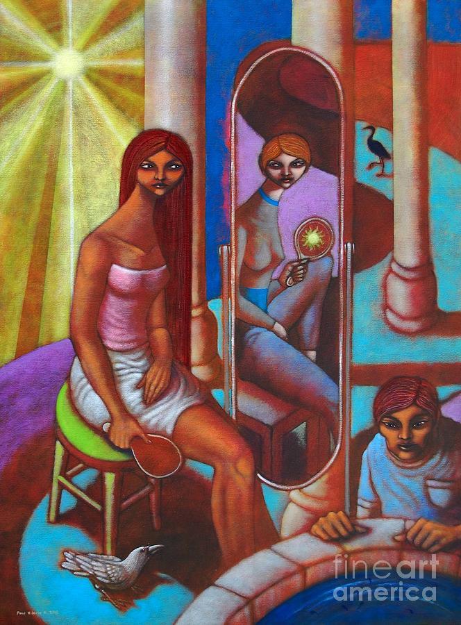 Change Painting - Magbago Man Despite Change by Paul Hilario