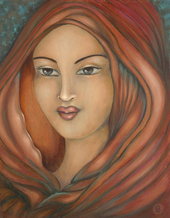 Mary Magdalene Painting - Magdalena by Christina Gage